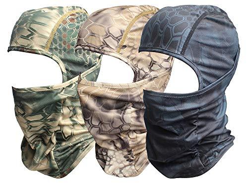 (Sun Protection Balaclava Ski Balaclava Motorcycle Face Cover Mask Airsoft Accessories Hat (BEAB-Green))