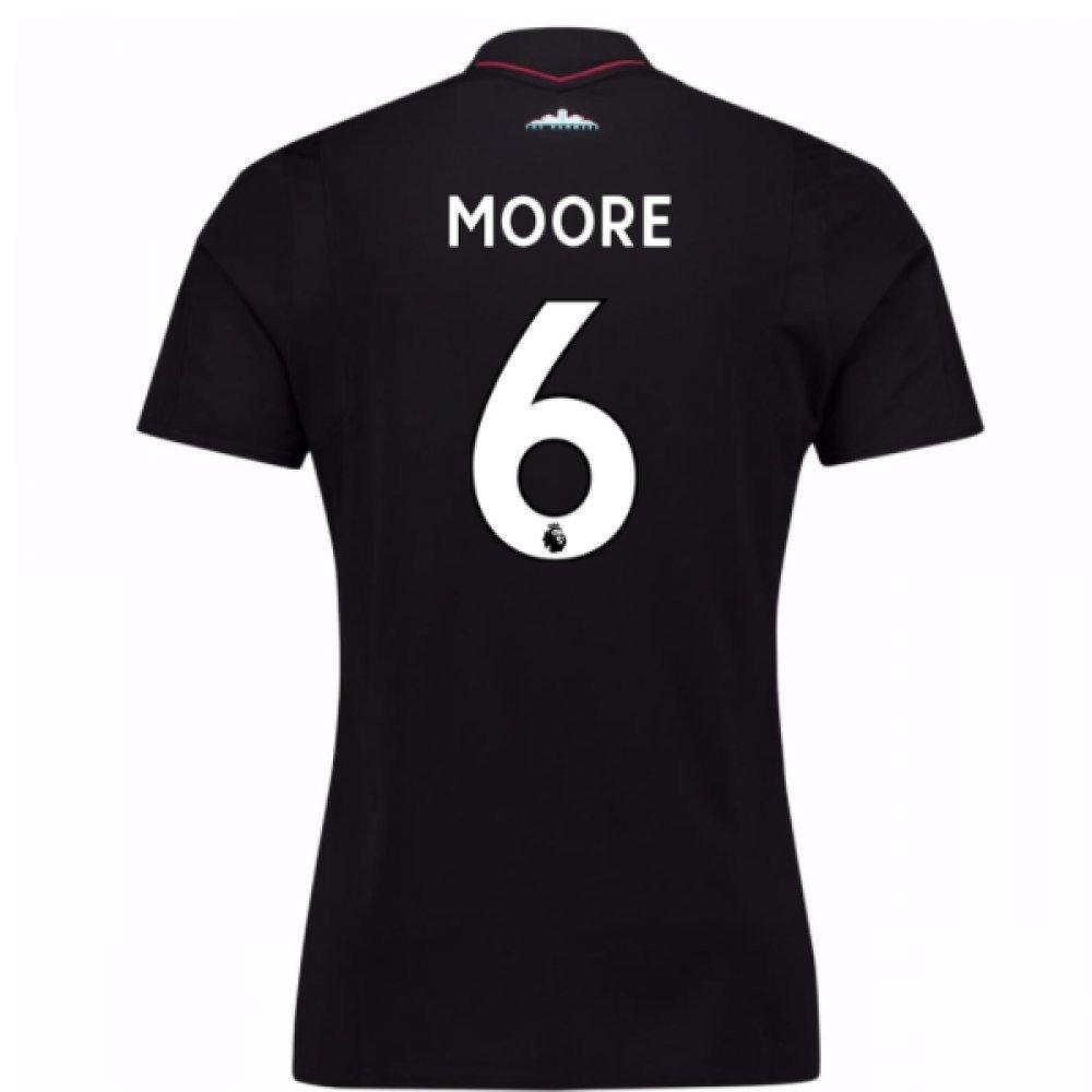 2017-18 West Ham Away Football Soccer T-Shirt Trikot (Bobby Moore 6)