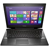 Lenovo Y40 Laptop Computer - 59423034 - Black - 4th Generation Intel Core i7-4510U / 1TB+8GB Solid State Hybrid Drive / 8GB RAM / 14.0 FHD 1920x1080 Display / AMD Radeon R9 M275 2GB / Dual Band Wireless AC / Windows 8.1