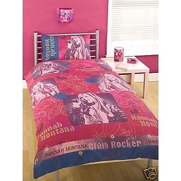 Kinder Bettwäsche Hannah Montana Kissen Und Deckenbezug