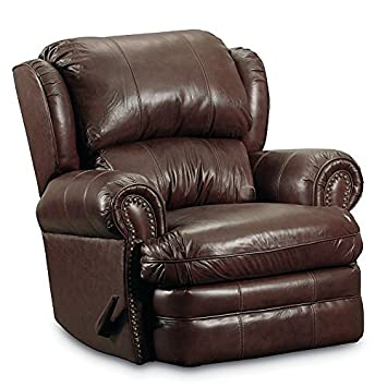 Lane Hancock Leather/vinyl Rocker Recliner. 5421-14-5114-21  sc 1 st  Amazon.com : vinyl recliner chairs - islam-shia.org