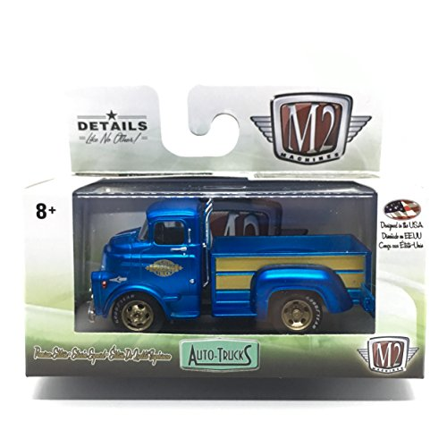 M2 Machines 1958 Dodge COE Truck (Satin Blue) - Auto-Trucks for sale  Delivered anywhere in USA