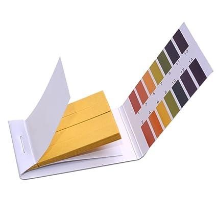 Parijata Full pH 1-14 Test Indicator Litmus Paper Water Soil Testing Kit,  80 Strips
