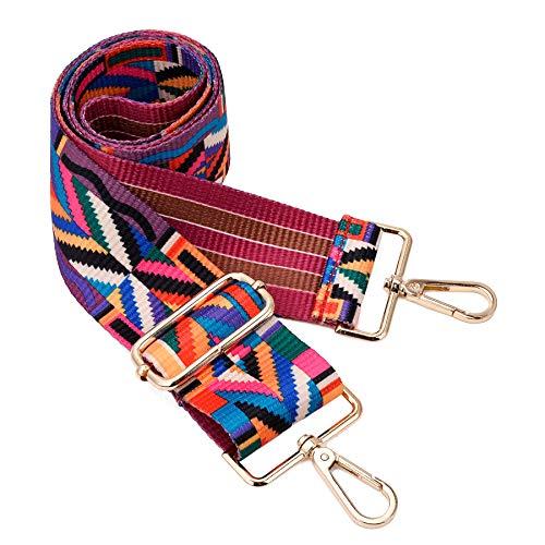 Wide Shoulder Strap Adjustable Replacement Belt Crossbody Canvas Bag Handbag (wide:1.97