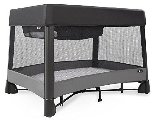 4moms Breeze Plus Portable playard with Removable Bassinet and Changing Station – Easy one Push Open, one Pull Close For Sale