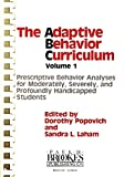 Adaptive Behavior Curriculum, Dorothy Popovich, 0933716133