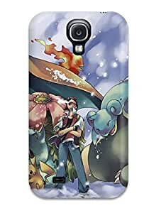 Fashion PC For Case Samsung Galaxy S4 I9500 Cover - Ash And His Pokemon Defender
