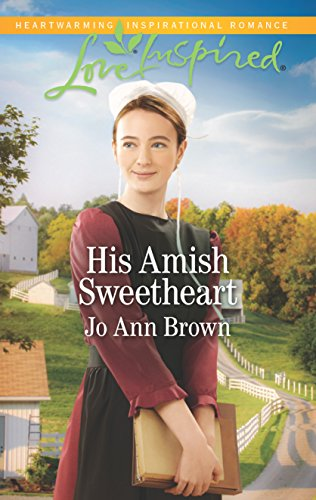 book cover of His Amish Sweetheart