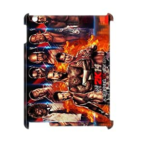 Classic Case WWE Wrestlemania pattern design For IPad 2,3,4(3D) Phone Case