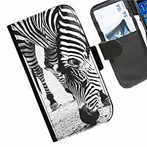 Hairyworm - Animals HTC Desire Eye leather side flip wallet cell phone case, cover