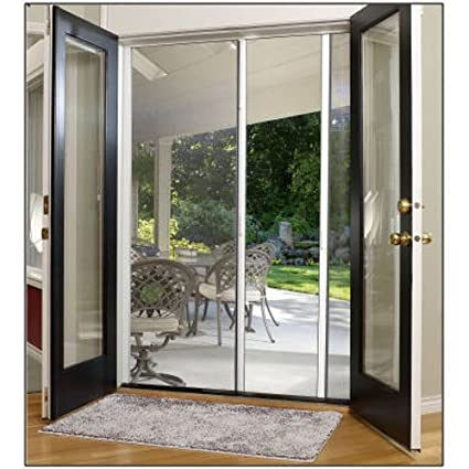 Best of LARSON E 84x81 WHT DBL Scr Door For Your House - Contemporary larson retractable screen door In 2018