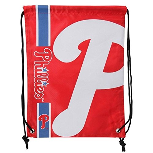 FOCO MLB Philadelphia Phillies Big Logo Drawstring Backpack, One Size, Team Color