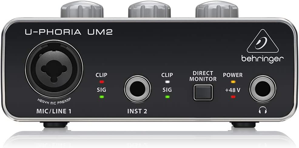 Behringer UM2 U-Phoria - Interfaz de Audio USB