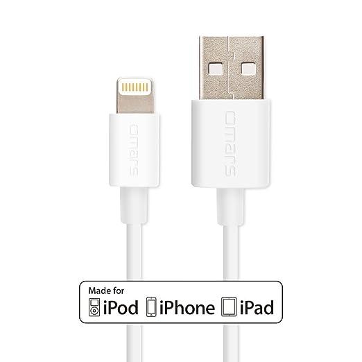 238 opinioni per [Certificato Apple MFI] Omars Cavo Lightning a USB di 0,9 m / 90cm per iPhone 6