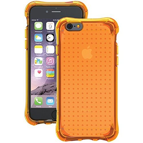 Ballistic, iPhone 6 Plus / 6s Plus Case [Jewel Neon] 6ft Drop Test Certified Case Protection [Neon Orange] Reinforced Bumper Cell Phone Case for Apple iPhone 6+ / 6s+ - Neon Orange