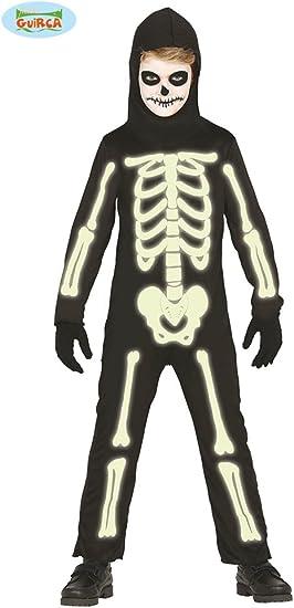 Disfraz de Esqueleto brillante para niños: Amazon.es: Juguetes y ...