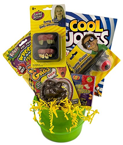 Kids Practical Jokes and Gags Themed Basket For Boys Or Girls