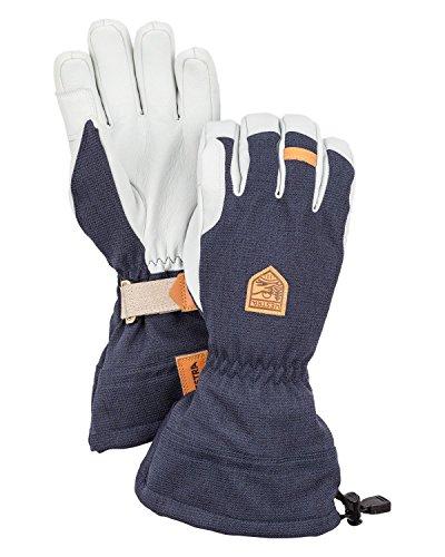 Hestra Gloves 30670 Army Leather Patrol Gauntlet, Navy - 10