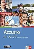 Azzurro A1-A2: Aktualisierte Ausgabe. Kurs- und Übungsbuch mit Audio-CD