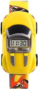 skmei Kids Watch For Kids Digital Plastic - SKM1241YL