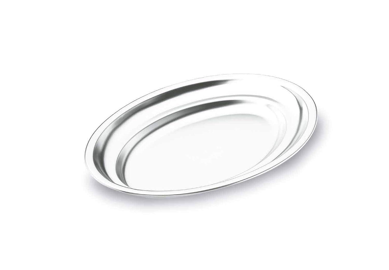 Fuente Oval Inox 18 Cr 61845 45 cms. Lacor