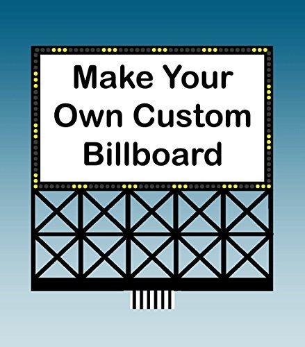 Lights4Models 44-2352 Sm Make Your Own Billboard Sign by Miller Signs