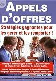 Appels d'offres - stratégies gagnantes pour les gérer et les remporter