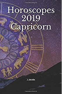 2019 Weekly Planner Capricorn Symbol Astrology Zodiac Sign