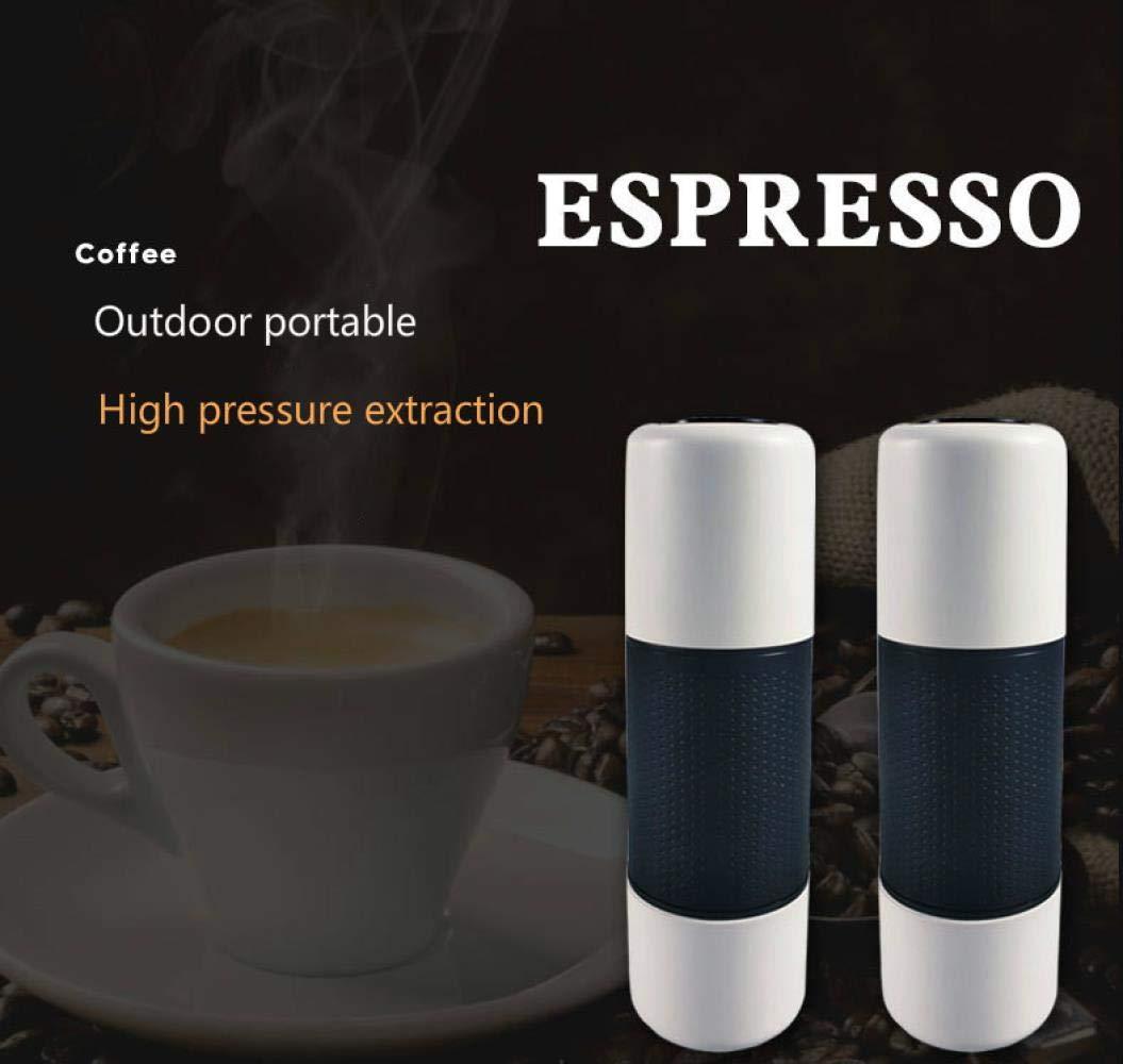 Mini Espresso Cápsula portátil Máquina de café de mano Extracción ...
