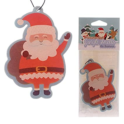 eUnique Christmas Car Air Fresheners (Santa)