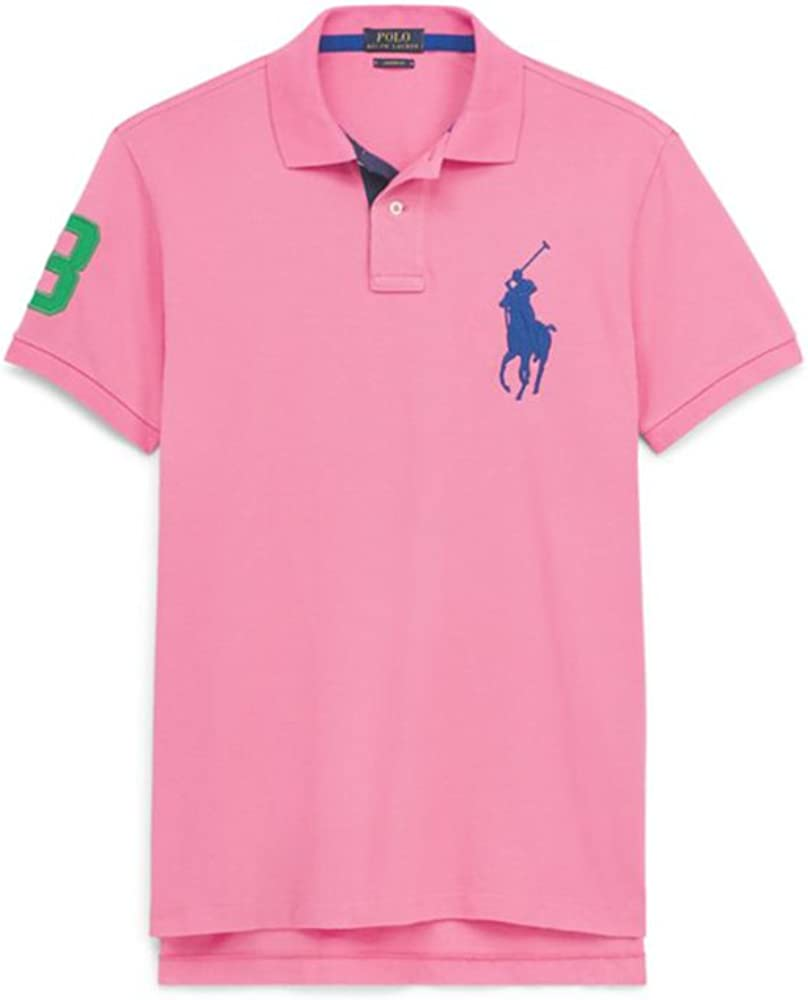 Ralph Lauren - Polo Big Pony - Rosa - Chroma Pink (L): Amazon.es ...