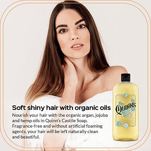 Quinn's Pure Castile Organic Liquid Soap, Unscented, 32 oz by Quinn's (Image #2)