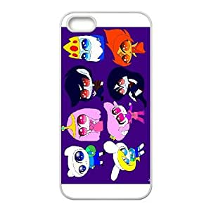 Adventure Time Princess BubbleGum iPhone 5 5s Cell Phone Case White Phone cover V92799617