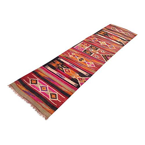 Vintage Turkish Kilim Runner - 2'8