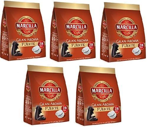 Capsulas Senseo Marcilla Fuerte 140 Monodosis: Amazon.es ...
