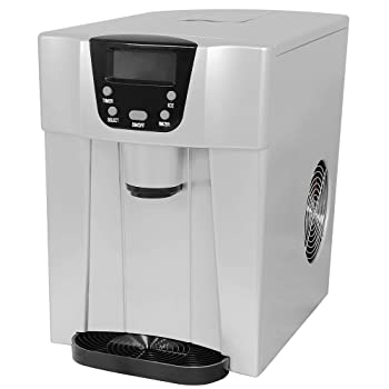 COOLLIFE 2-in-1 Portable Ice Maker