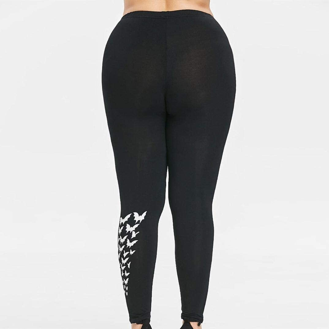 Toraway Women Leggings Pants Womens Plus Size Capri Cropped Leggings Stretch Lace Trim Soft Tights Pants lace Pants
