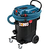 Bosch GAS 55 M AFC - vacuum cleaners (Drum, Professional, Hard floor, Black, Blue, Dry&Wet, Stainless steel)