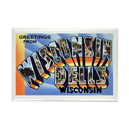 CafePress - Wisconsin Dells Greetings Rectangle Magnet - Rectangle Magnet, 2