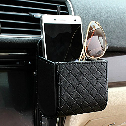 yosoo car auto seat back interior air vent cell phone holder import it all. Black Bedroom Furniture Sets. Home Design Ideas
