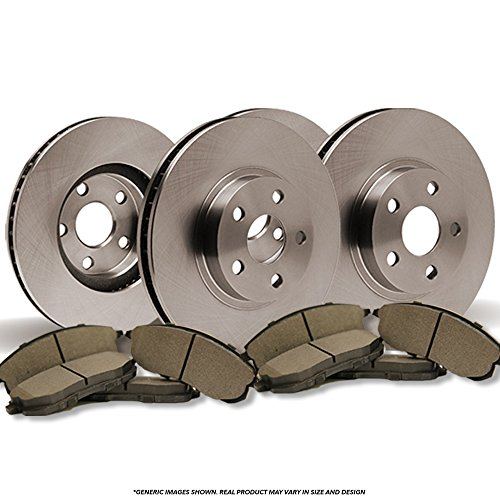 (Front+Rear Kit)(OE SPEC)(Perfect-Series) 4 Disc Brake Rotors