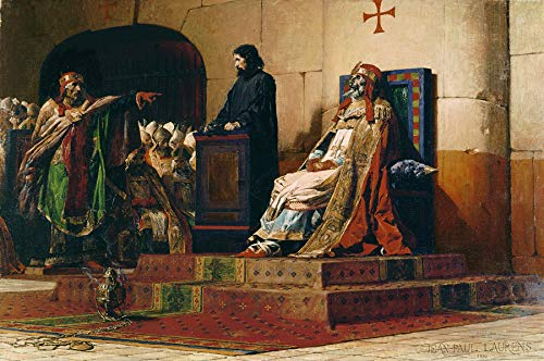 Jean-Paul Laurens Pope Formosus and Stephen VII ~ The Cadaver Synod 1870 Musee des Beaux-Arts de Nantes 30