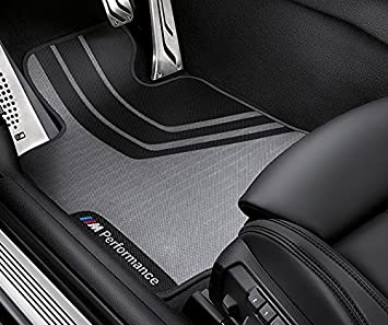 Amazon Com Bmw M Performance Floor Mats Front And Rear F30 3