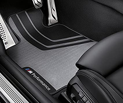 Amazon Com Bmw M Performance Floor Mats Front And Rear F30 3 Series