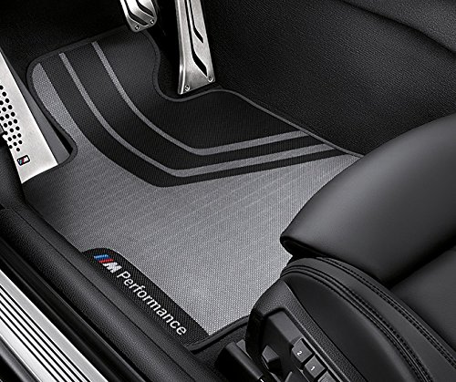 BMW M Performance Floor Mats Front and Rear F30 3 (Bmw 3 Series Floor Mats)