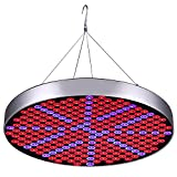 50W LED Plant Grow Lights, Shengsite UFO 250 LEDs Indoor Plants Growing Light Bulbs with Red Blue Spectrum Hydroponics Plant Hanging Kit for Germination,Vegetative&Flowering Review