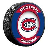 Montreal Canadiens Habs Retro Series Team Logo Model Collectible Souvenir Puck