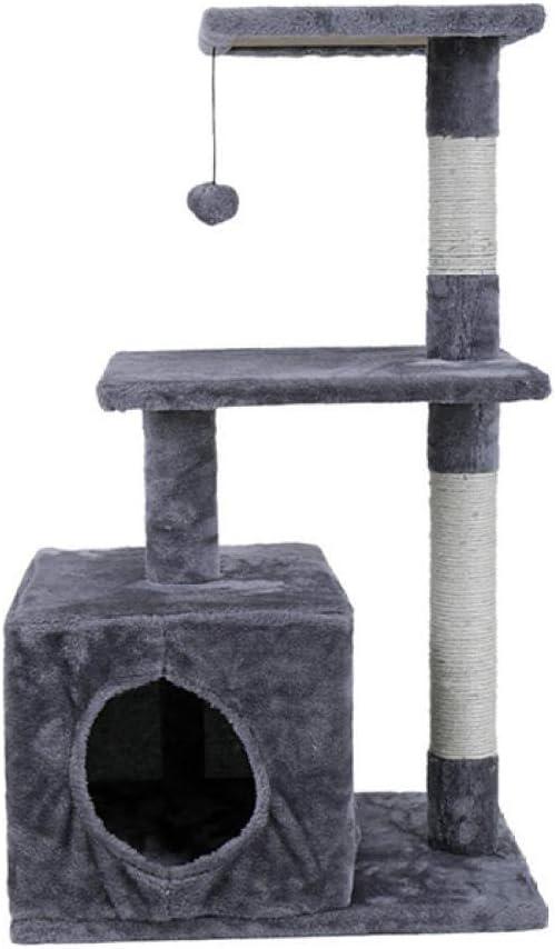 Gulunmun Árbol Rascador para Gatos Muebles de Animales Gato Árbol ...