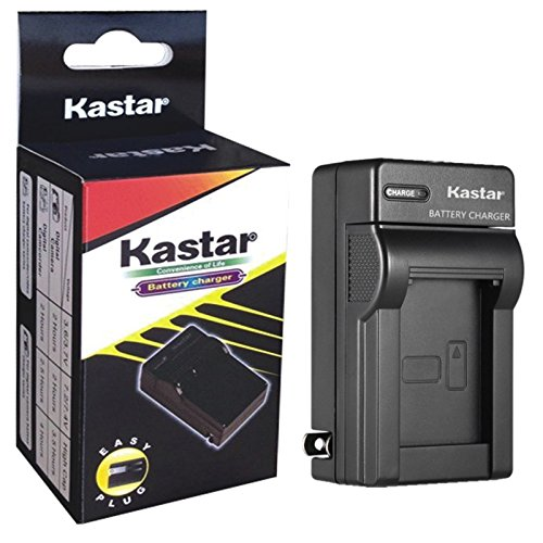Kastar Travel Charger for Pentax D-Li8 D-Li85 and PENTAX Optio A10 A20 A30 A36 A40 E65 L20, Optio S S4 S4i S5iS5n S5z S6 S7 SV SVi, Optio T10 T20, Optio W10 W20 WP WPi, Optio X Digital Cameras