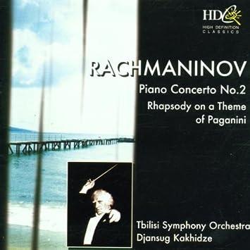 Piano Concerto No. 2 (Tbilisi Cham Orch, Kakhidze) by Sergey Rachmaninov